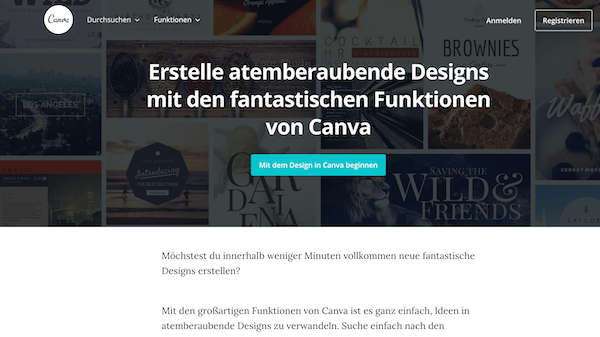Design Tool für dein Marketing